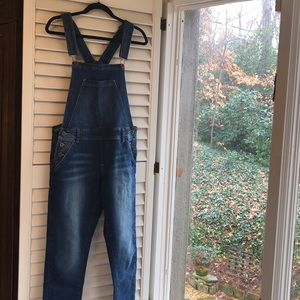 Lucky Brand Fitted Overalls. So many ways to style